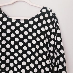 Old Navy Polka Dot top | Perfect Minnie Bound!